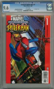 Ultimate Spider-man #1 First Print (2000) CGC 9.6 Brian Michael Bendis Marvel comic book